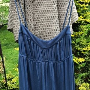 Juicy Couture Blue Strapless Dress